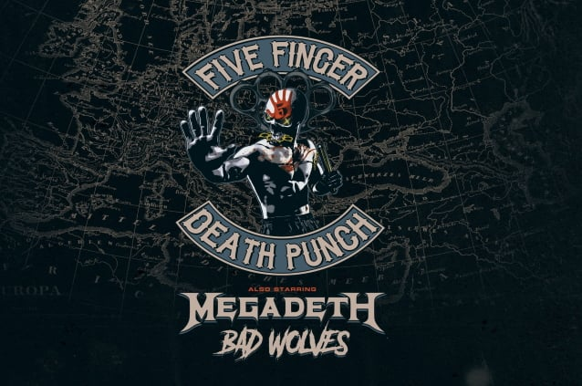 Five Finger Death Punch Megadeth