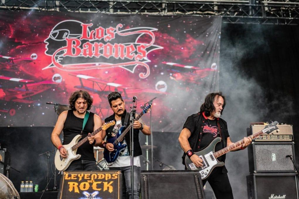 Los Barones Leyendas del Rock 2019