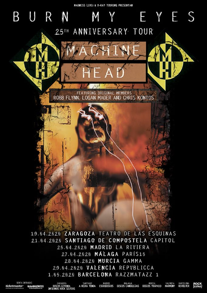 Machine Head España 2020