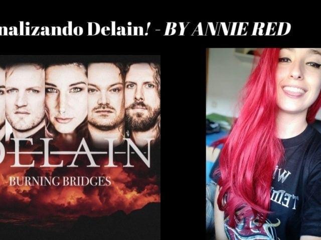 Delain Burning Bridges Annie Red