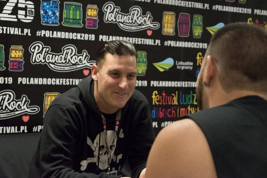 Winston McCall Parkway Drive interview
