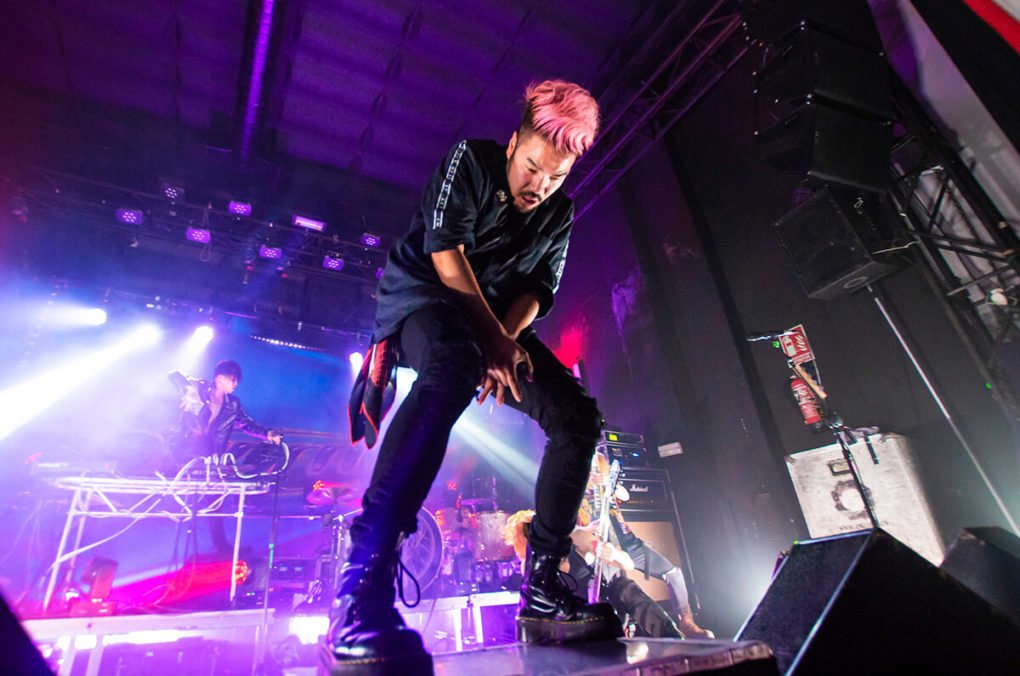 Crossfaith Madrid Caracol