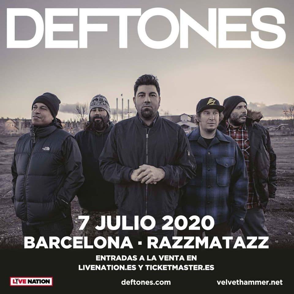 Deftones Barcelona