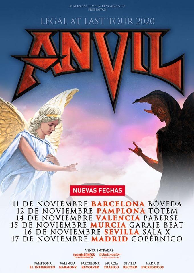 Anvil España noviembre