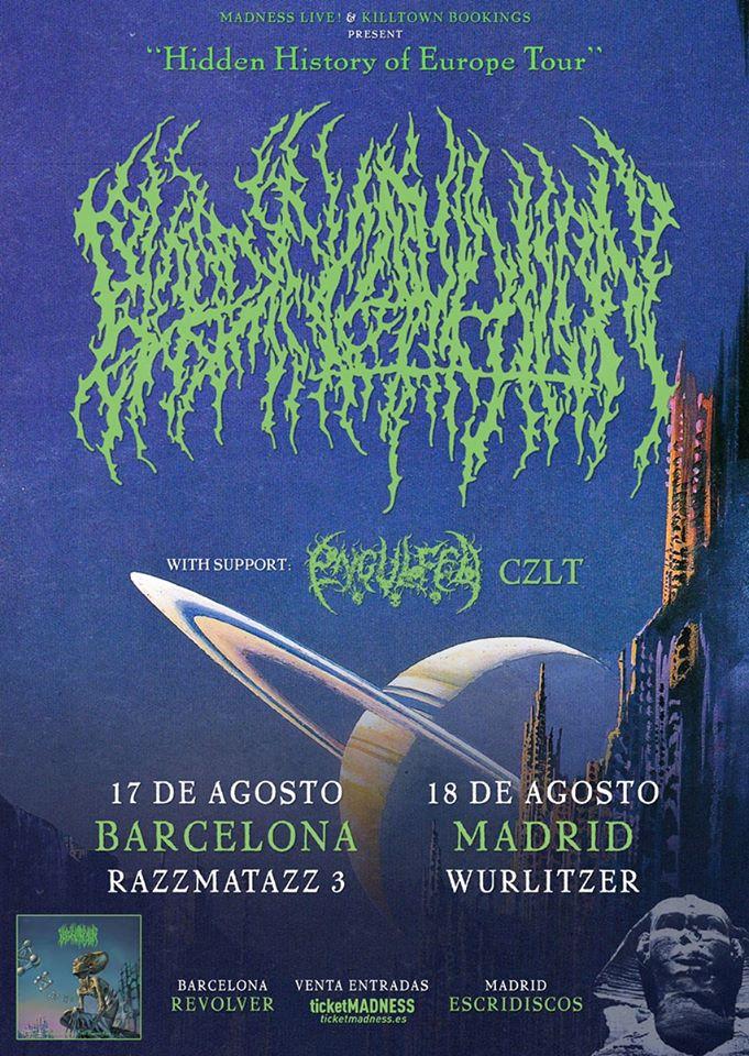 Blood Incantation España 2020