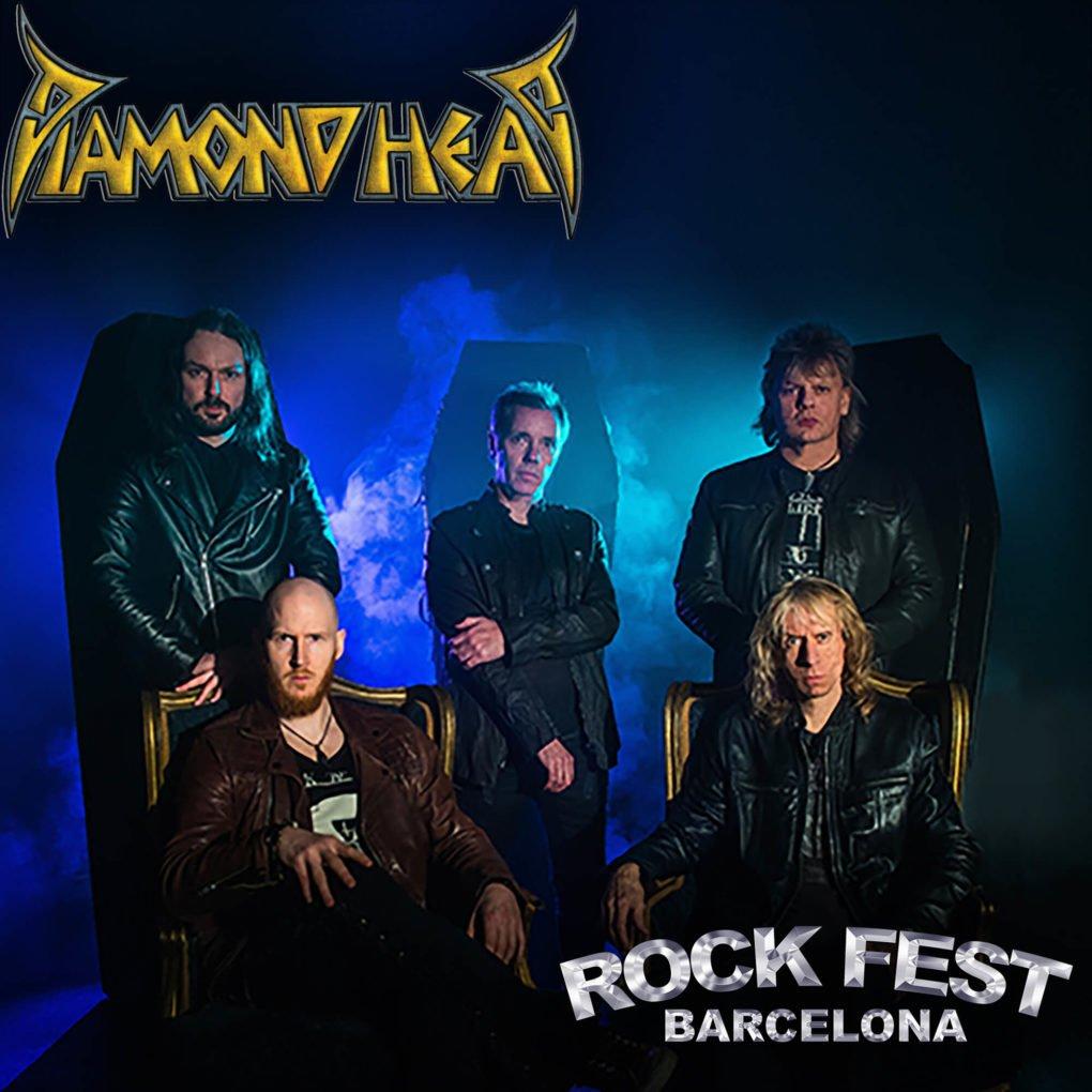 Diamond Head Rock Fest Barcelona 2020