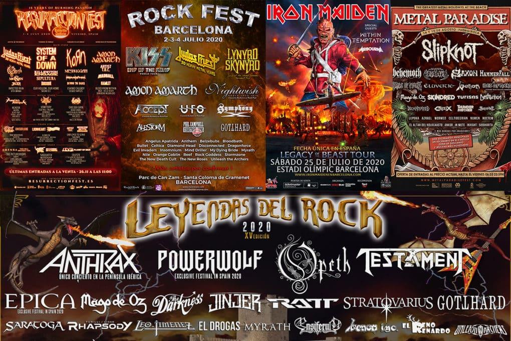 festivales 2020 iron maiden