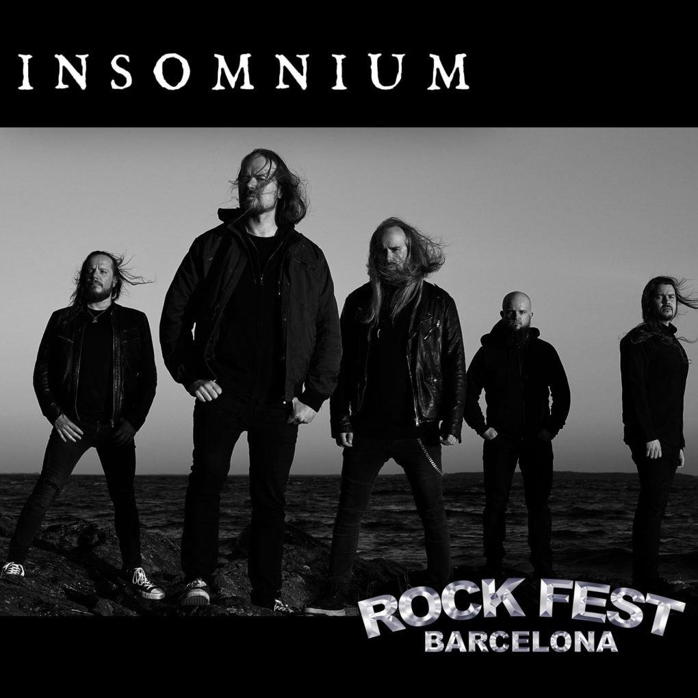 Insomnium Rock Fest Barcelona 2020
