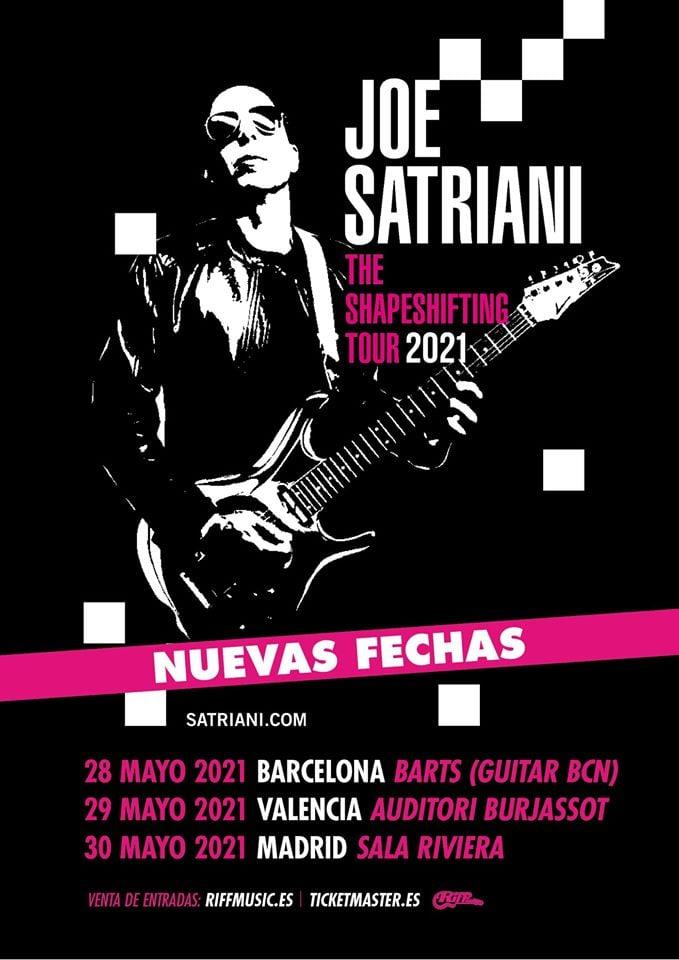 Joe Satriani España 2021