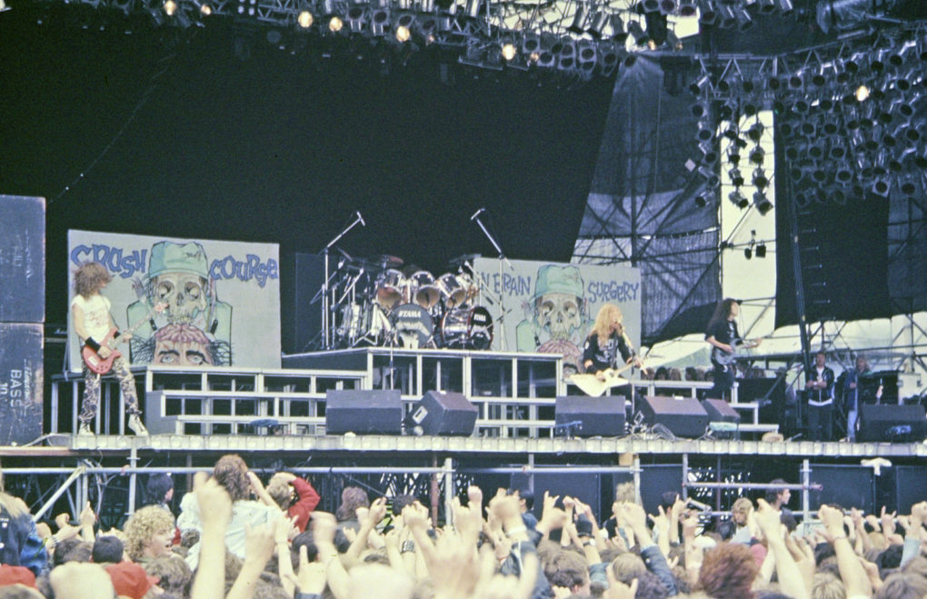 Metallica Madrid 1987