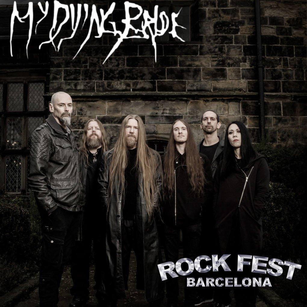 My Dying Bride Rock Fest Barcelona 2020