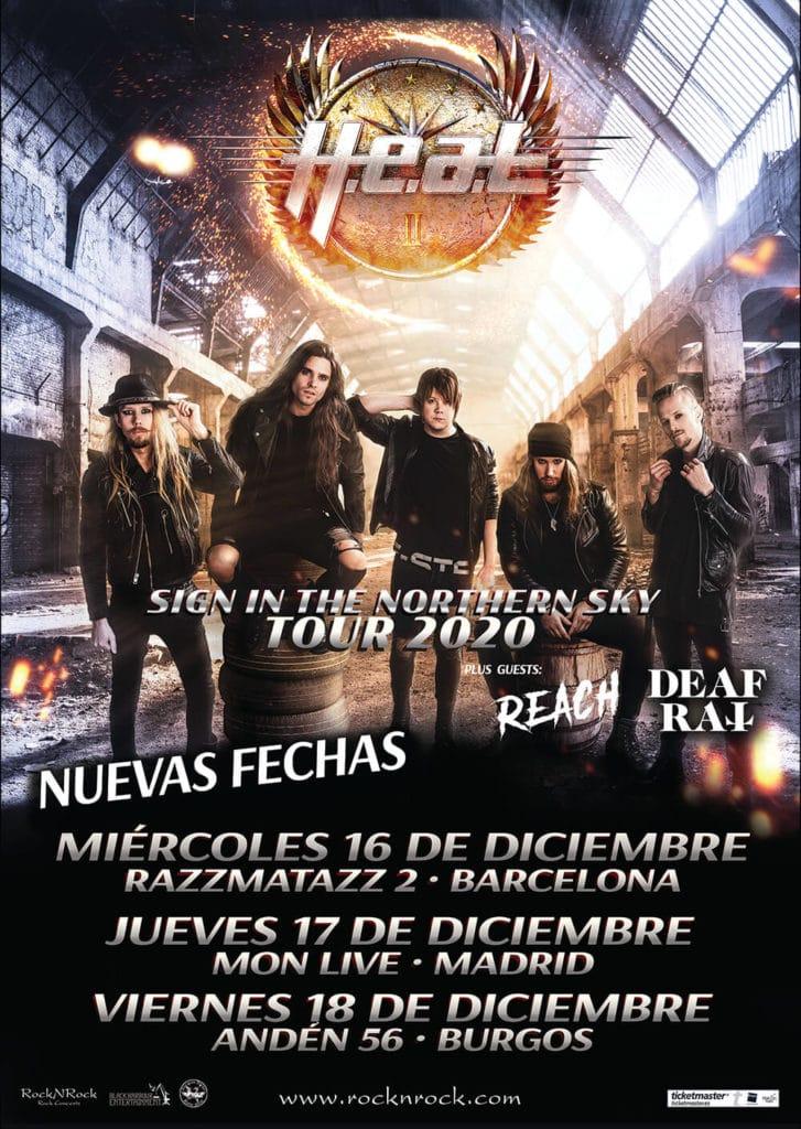 H.E.A.T. España diciembre 2020