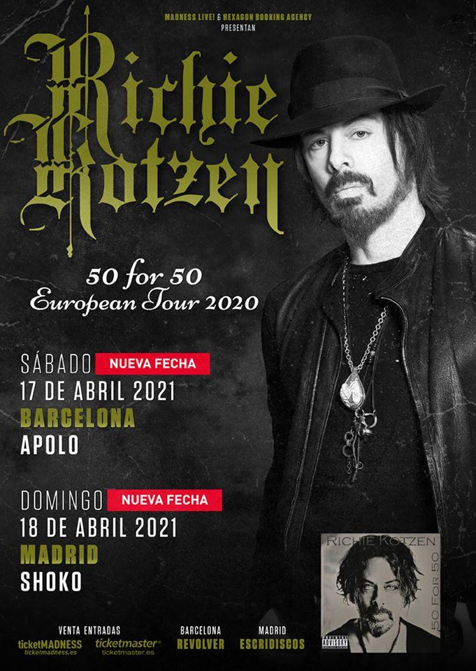 Richie Kotzen España 2021