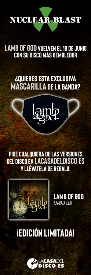 Nuclear Blast - Lamb of God lateral