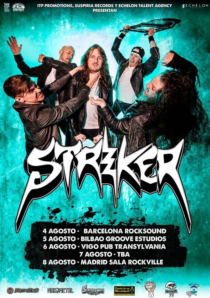 Striker gira España 2021