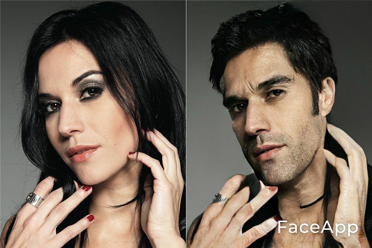 Cristina Scabbia FaceApp