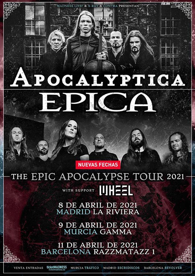 Epica Apocalyptica España 2021