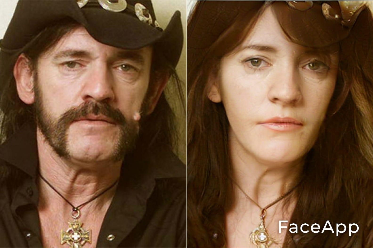 Lemmy FaceApp