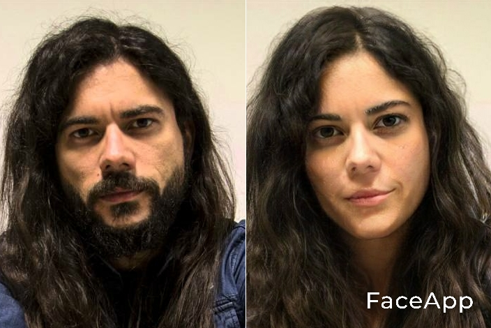 Leo Jiménez FaceApp