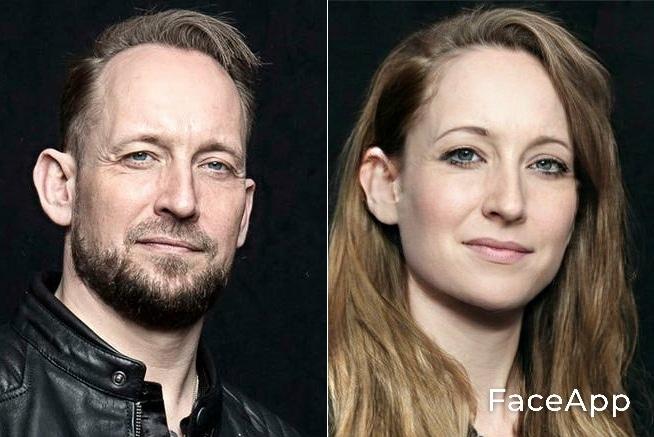 Michael Poulsen FaceApp