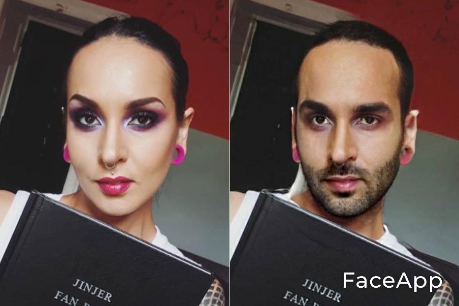 Tatiana Shmaylyuk FaceApp
