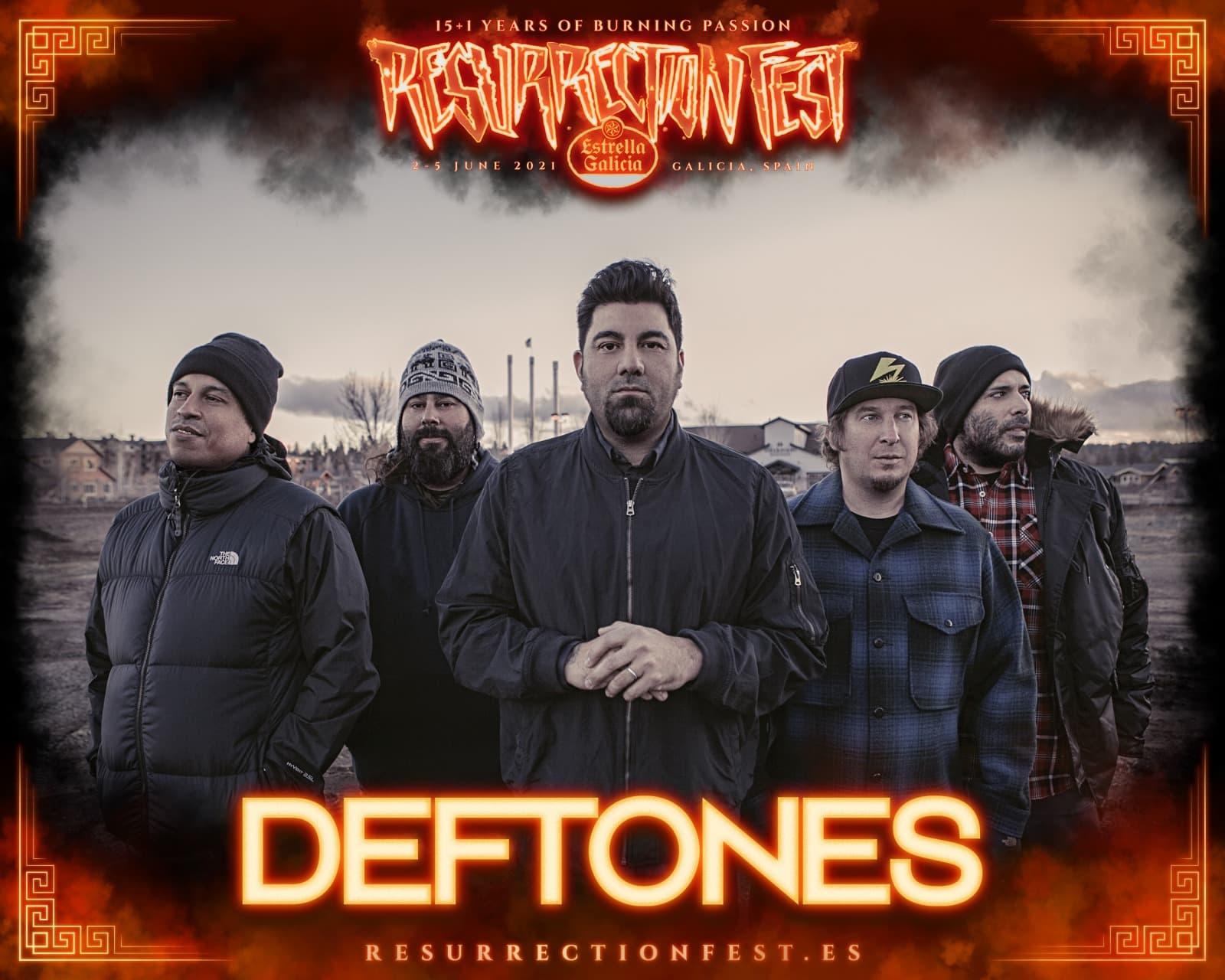 Deftones Resurrection Fest 2021