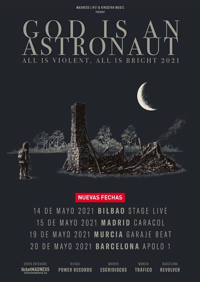 God Is Astronaut España 2021