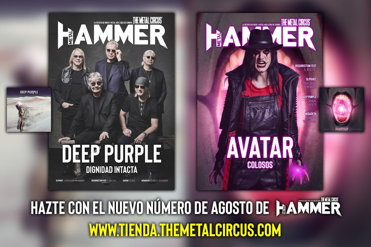 Deep Purple Metal Hammer Agosto 2020 Avatar