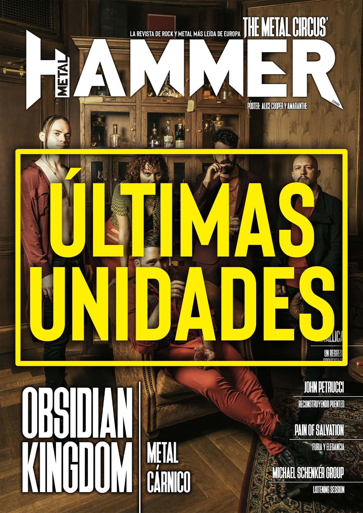 últimas unidades Metal Hammer Obsidian Kingdom