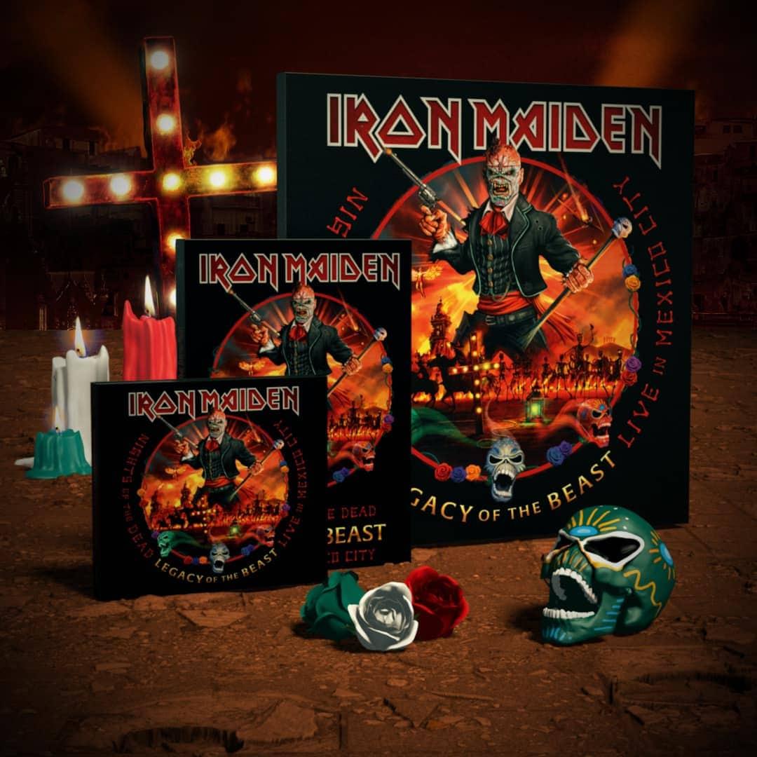 Iron Maiden live Mexico