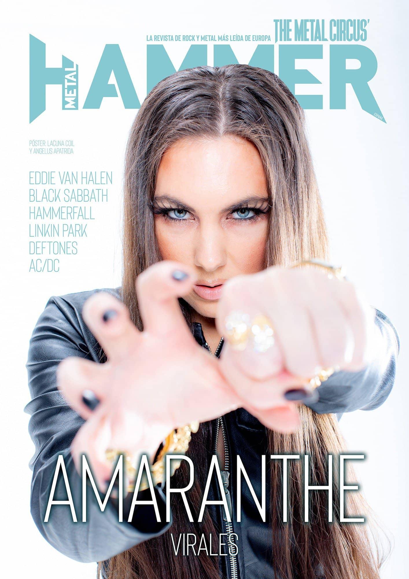 portada Metal Hammer Amaranthe octubre 2020