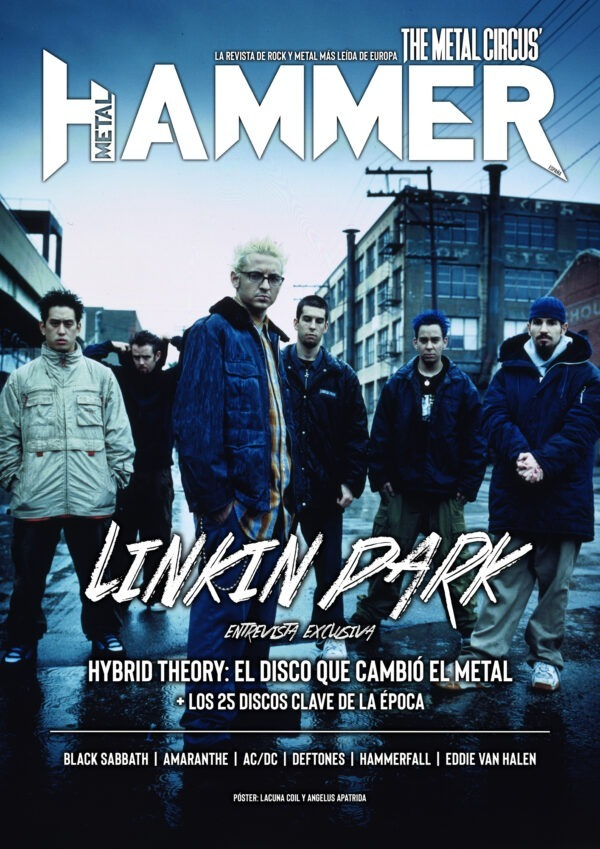 portada Metal Hammer Linkin Park octubre 2020