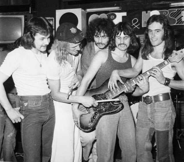 formación original Iron Maiden