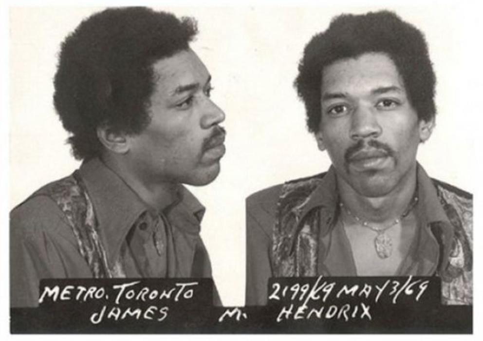 Kimi Hendrix detenido