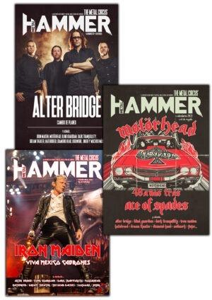 Pack Metal Hammer diciembre 2020 Motörhead Iron Maiden Alter Bridge