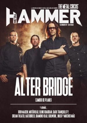 Portada Metal Hammer diciembre 2020 Alter Bridge