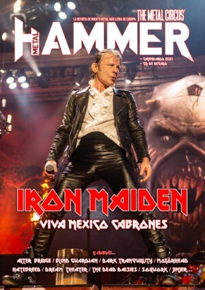 Portada Metal Hammer diciembre 2020 Iron Maiden