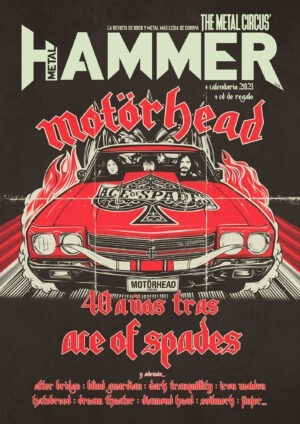 Portada Metal Hammer diciembre 2020 Motörhead