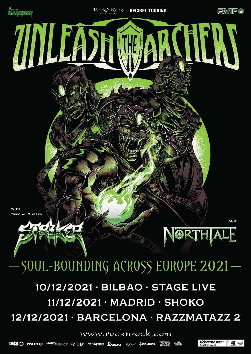Unleash The Archers gira España