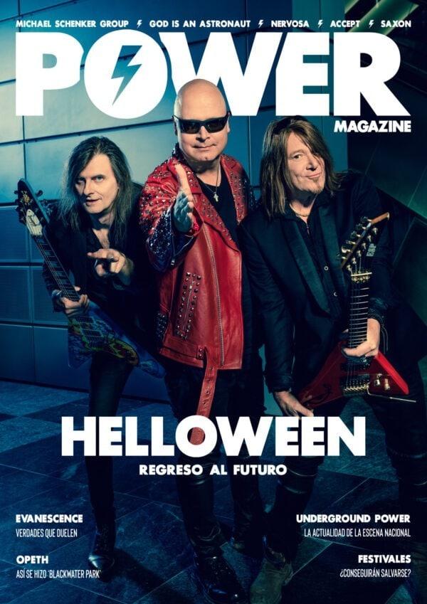 portada Power Magazine Helloween 1 abril 2021