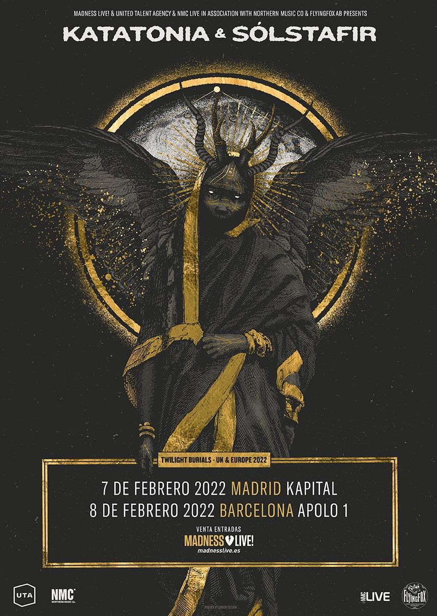 Katatonia España 2022