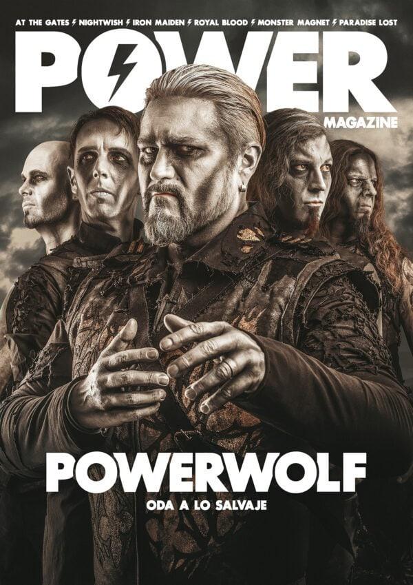 portada Power Magazine Powerwolf Junio 2021